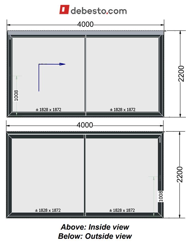 Aluminium patio sliding windows ranking debesto