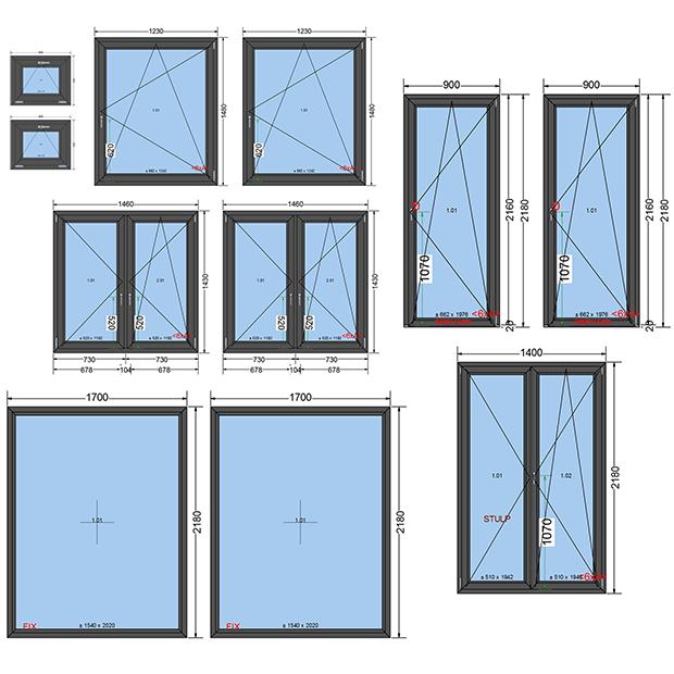 Okna PCV Trzyszybowe - testowy zestaw okien energooszczędnych